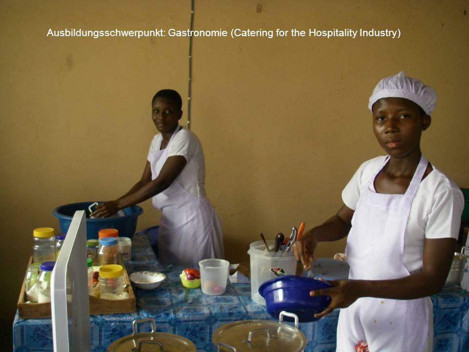Ausbildungsschwerpunkt: Gastronomie (Catering for the Hospitality Industry)