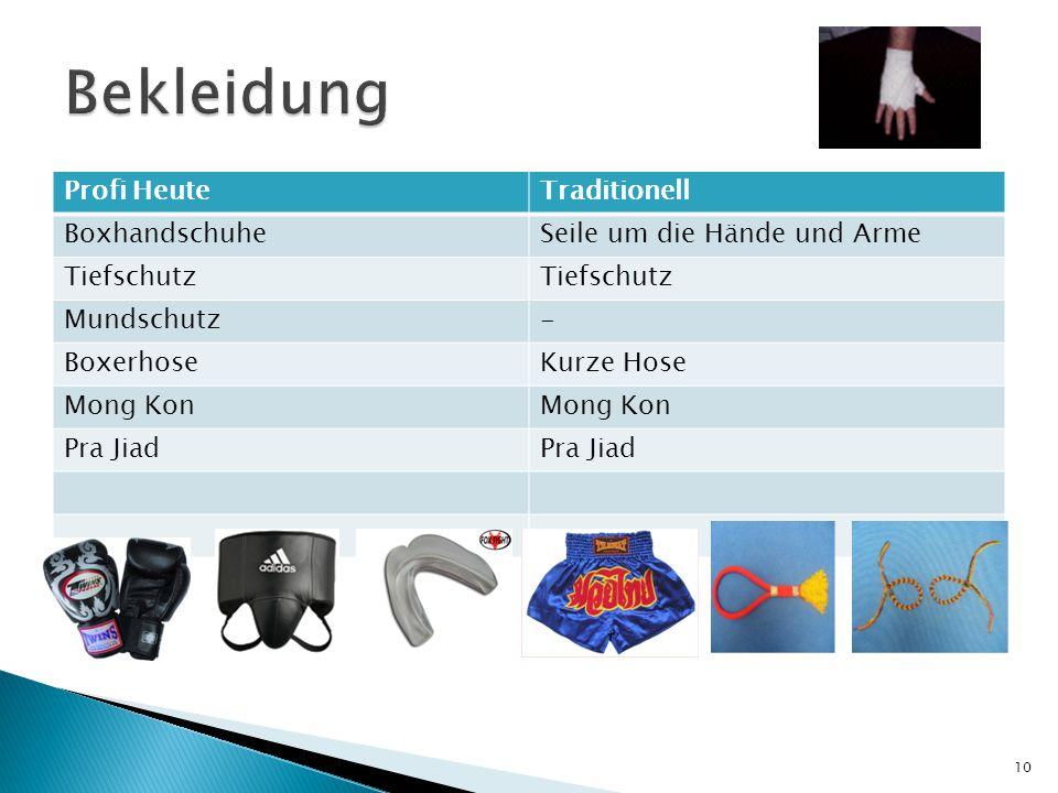 Profi HeuteTraditionell BoxhandschuheSeile um die Hände und Arme Tiefschutz Mundschutz- BoxerhoseKurze Hose Mong Kon Pra Jiad 10