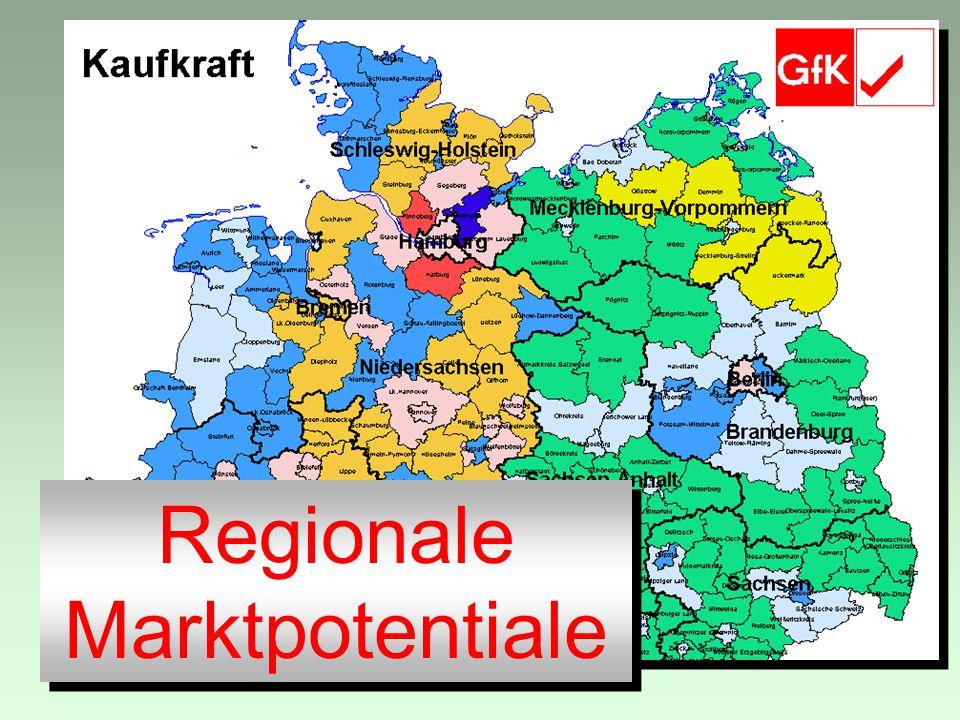Regionale Marktpotentiale