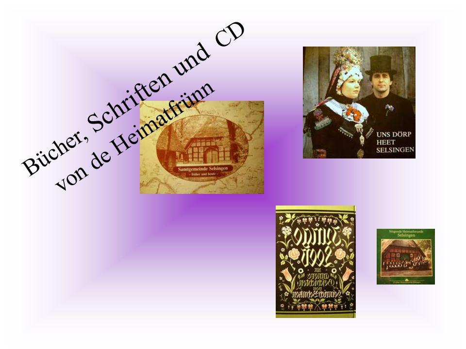 Bücher, Schriften und CD von de Heimatfrünn