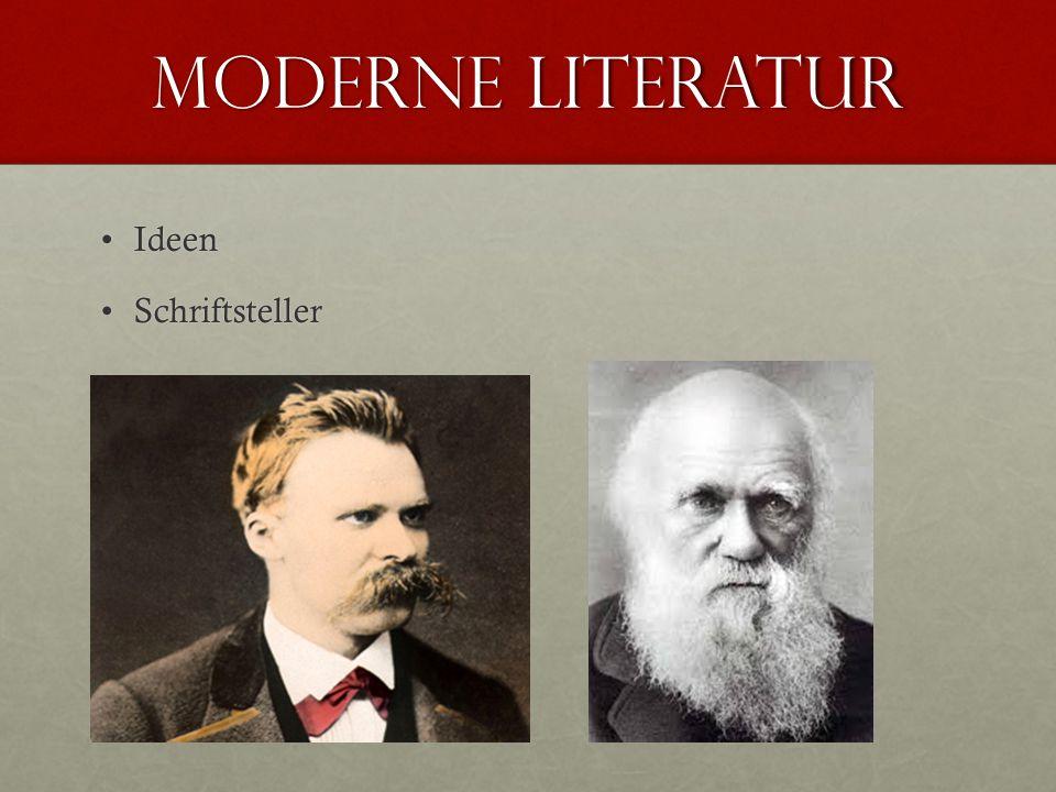 Moderne literatur IdeenIdeen SchriftstellerSchriftsteller