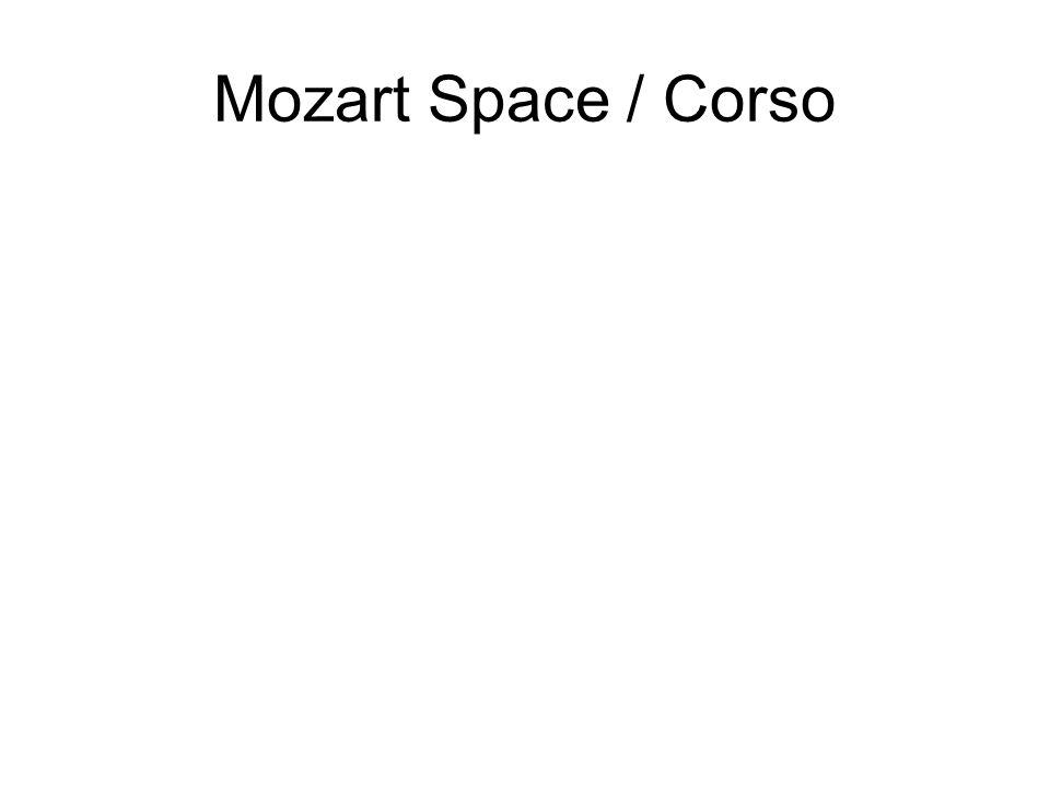 Mozart Space / Corso