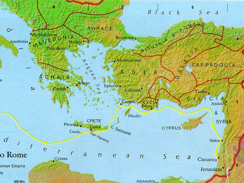 Erste Missionsreise des Paulus 48 n. Chr.