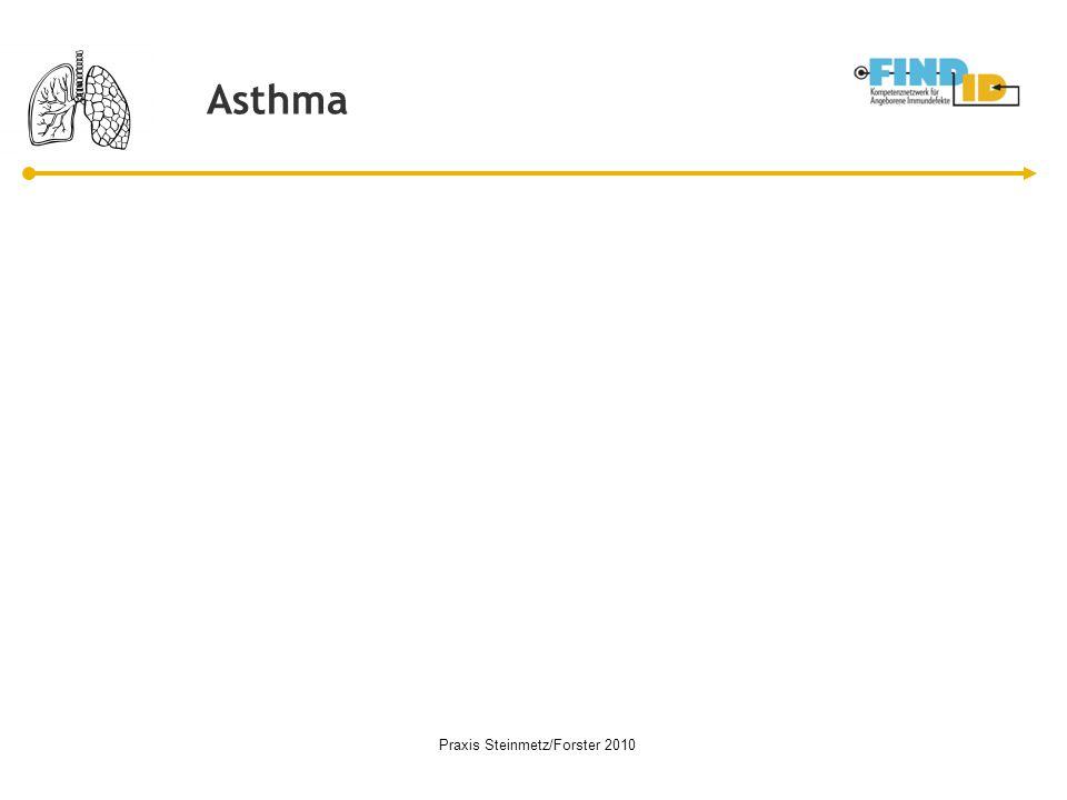 Asthma Praxis Steinmetz/Forster 2010