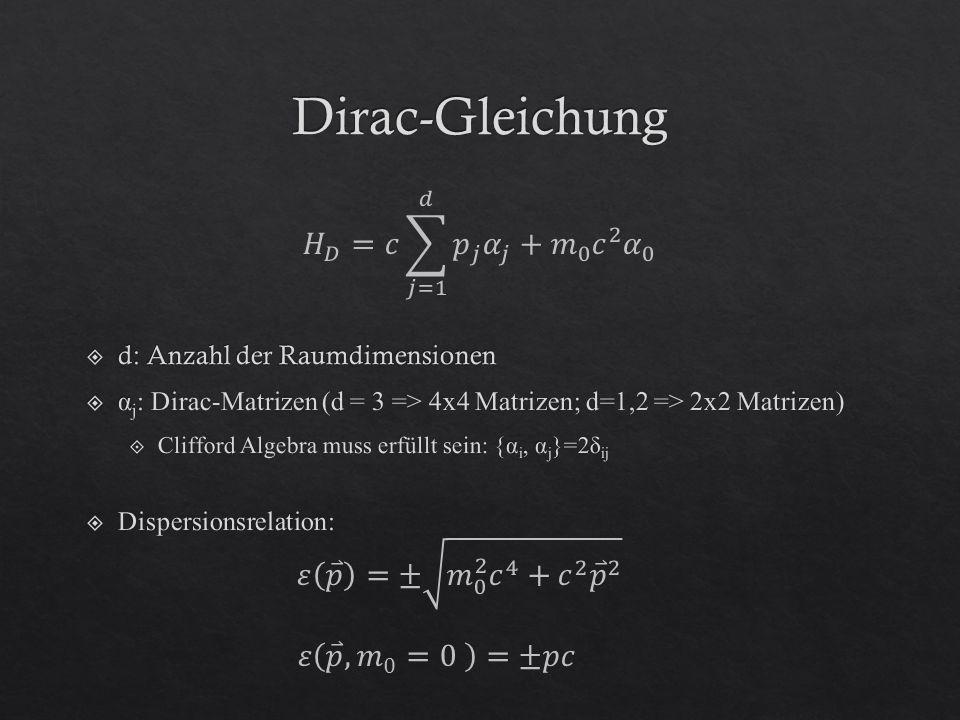 Linearisierung in Umgebung von K: => {α i, α j }=2δ ij