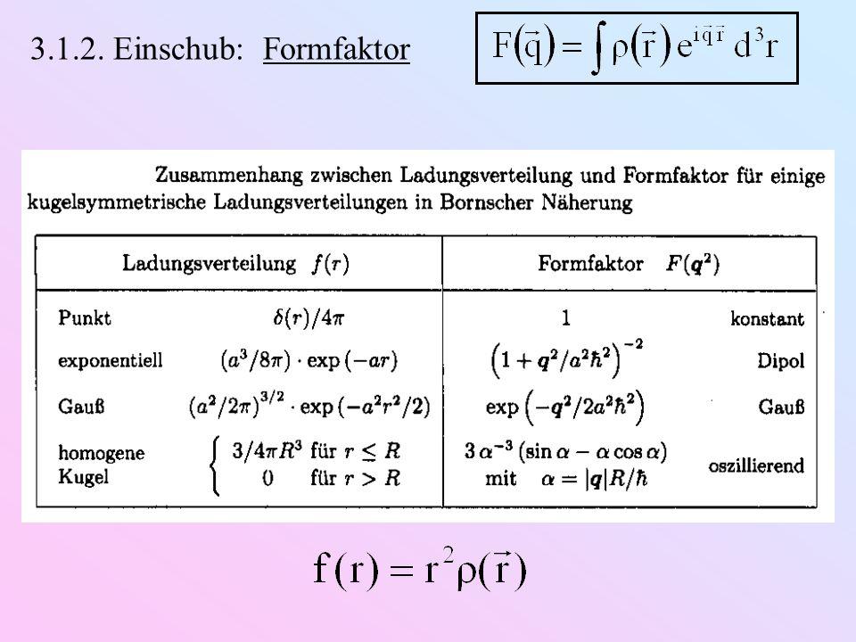 Vorhersage zum Kernspin von : 14 Protonen (Spin ½) 7 Elektronen (Spin ½) Beobachtung (N 2 -Molekül): J ist ganzzahlig   enthält eine gerade Zahl von Fermionen d)Entdeckung des Neutrons (Chadwick, 1932): m n  m p Q n = 0 Spin-½ Erkenntnis: Kern  Z Protonen & (A  Z) Neutronen Erklärung des   -Zerfall: ✓ (  später ) Erklärung des Spins von :  gerade Anzahl von Spin-½-Teilchen ✓