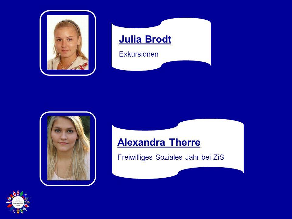 Julia Brodt Exkursionen Alexandra Therre Freiwilliges Soziales Jahr bei ZiS