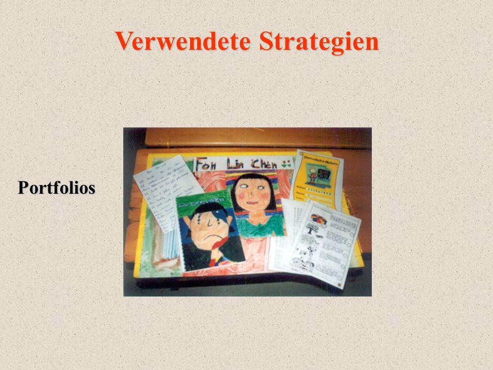 Verwendete Strategien Portfolios