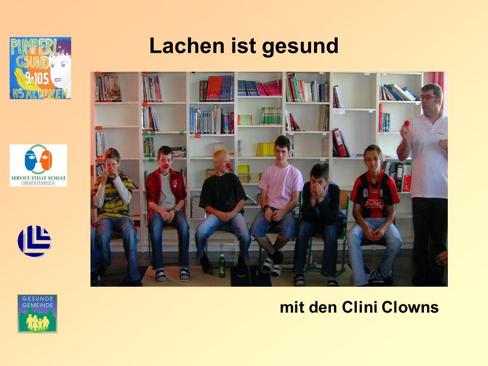 Lachen ist gesund mit den Clini Clowns