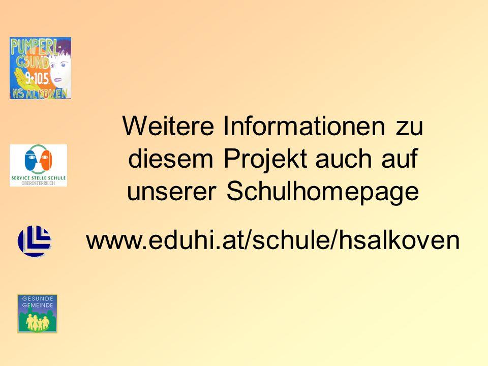 Weitere Informationen zu diesem Projekt auch auf unserer Schulhomepage www.eduhi.at/schule/hsalkoven