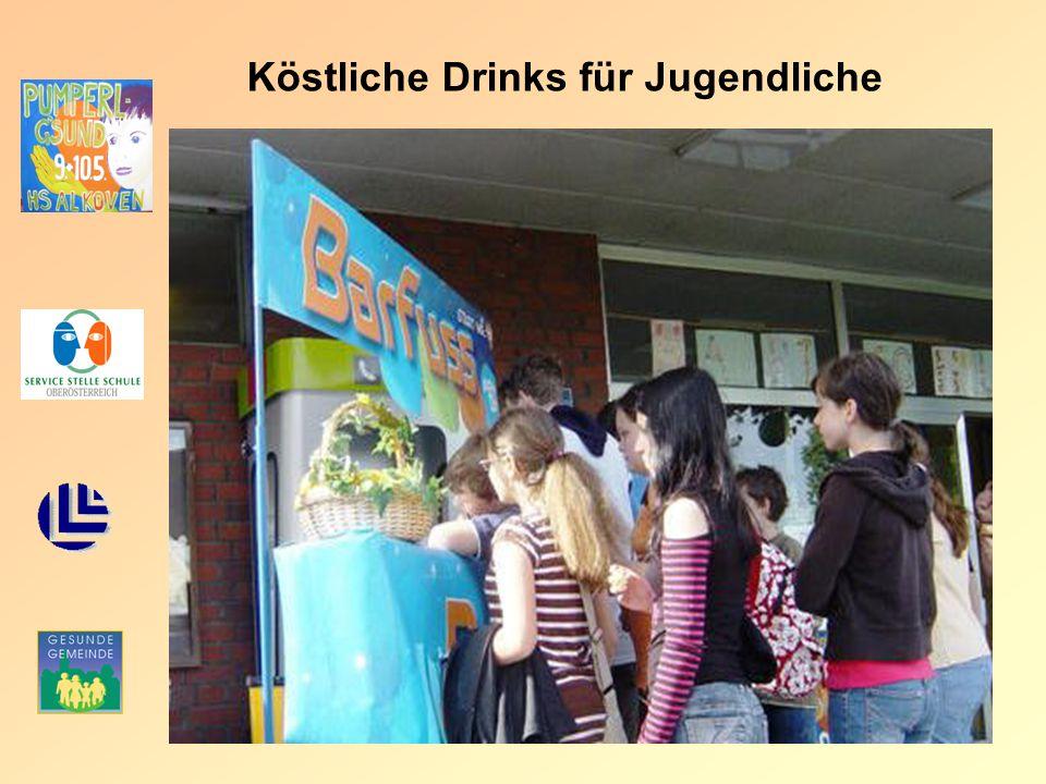Köstliche Drinks für Jugendliche