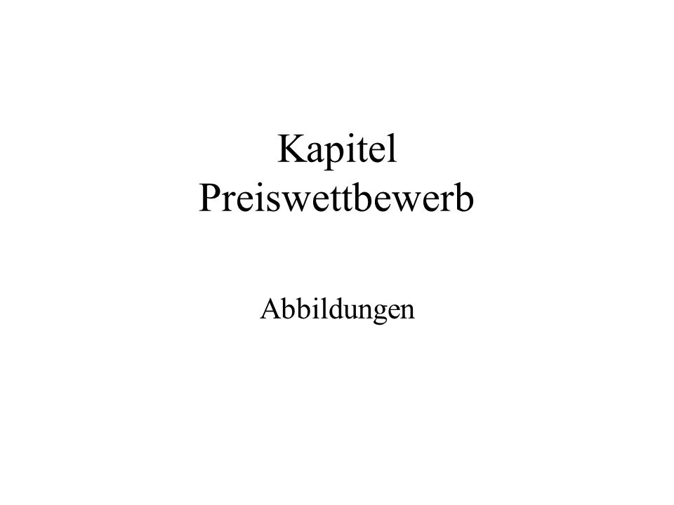 Kapitel Preiswettbewerb Abbildungen