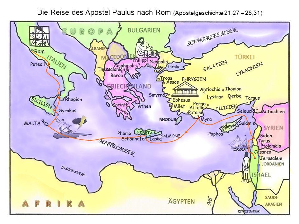 Paulus bringt das Evangelium nach Europa Während die zwölf Jünger des Herrn Jesus als Apostel und Augen- zeugen das Evangelium den Juden predigten, ist Paulus berufen, die frohe Botschaft den Nichtjuden (Heiden) zu verkündigen.