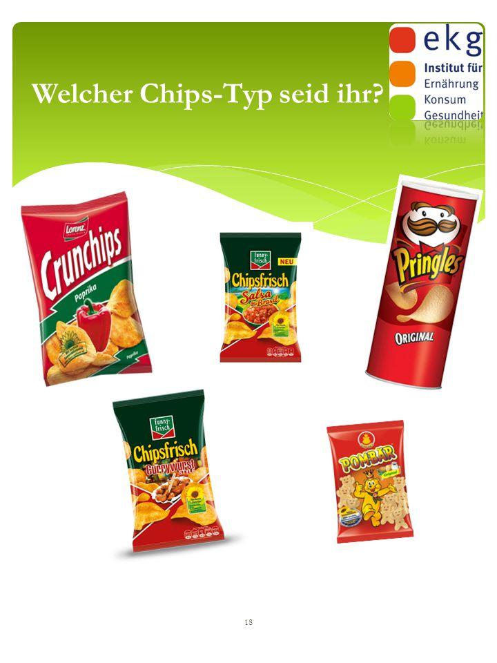 18 Welcher Chips-Typ seid ihr?