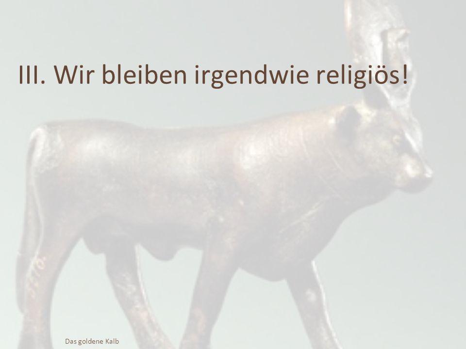 """""""Morgen feiern wir ein Fest für den HERRN! 2.Mose 32,5 Das goldene Kalb"""