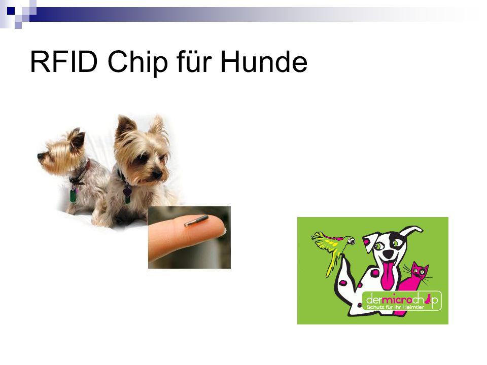 RFID Chip für Hunde