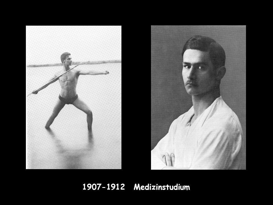 1907-1912 Medizinstudium