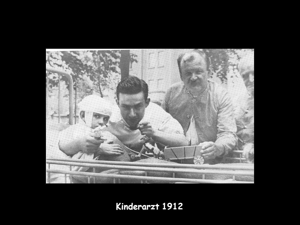 1914-1918 im 1.Weltkrieg Bataillons-Arzt wird Kriegsgegner: erste Erzählung Der Sprung durch den Tod heilt Kriegszitterer durch Hypnose