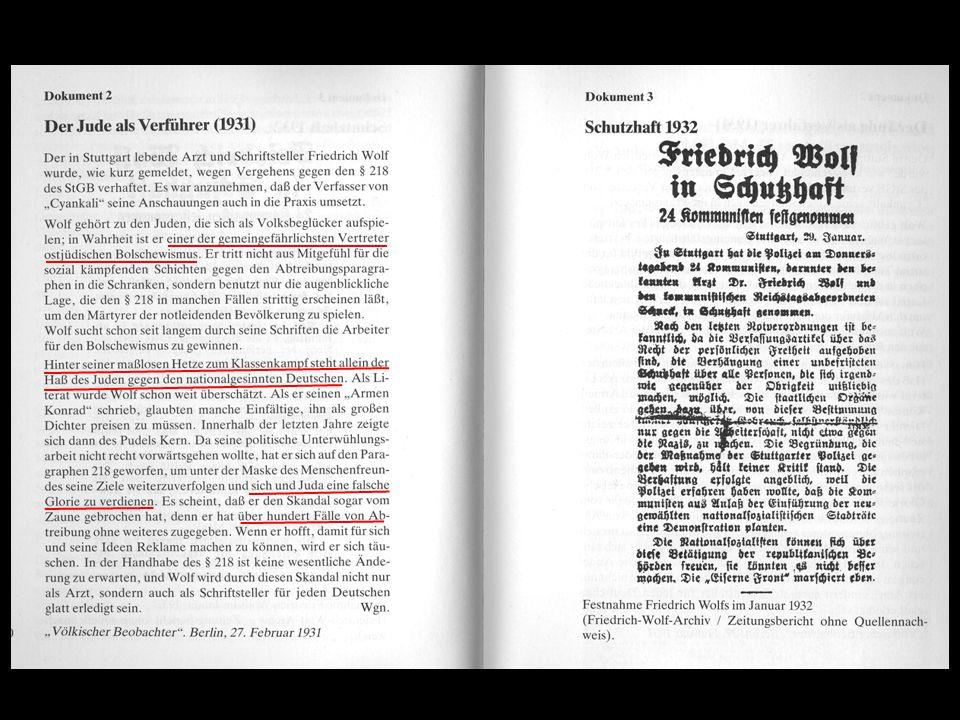 1933 Emigration über Österreich, Schweiz nach Frankreich Prof.