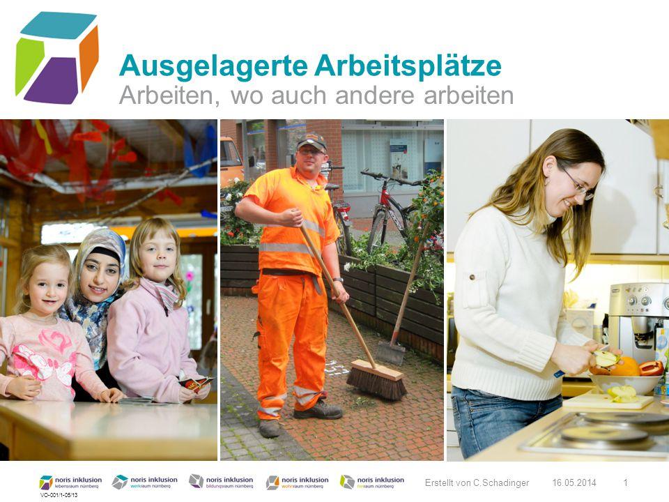 VO-001/1-05/13 Arbeiten, wo auch andere arbeiten Ausgelagerte Arbeitsplätze 16.05.20141 Erstellt von C.Schadinger