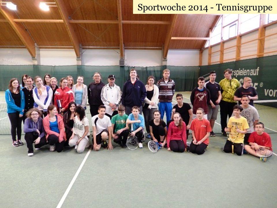 Sportwoche 2014 - Tennisgruppe
