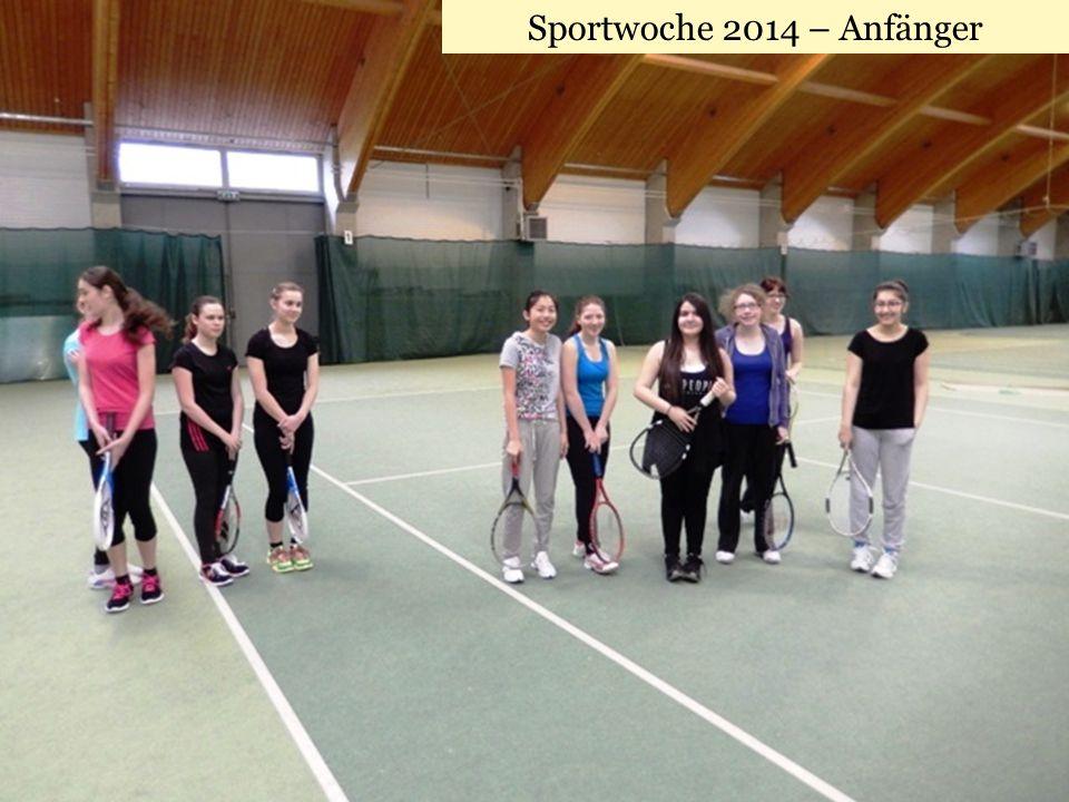 Sportwoche 2014 – Anfänger