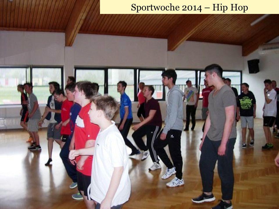 Sportwoche 2014 – Hip Hop