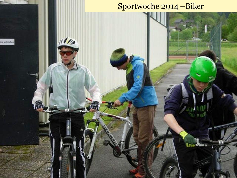 Sportwoche 2014 –Biker