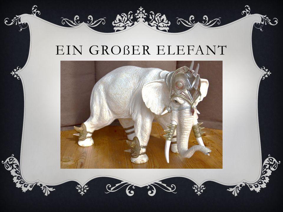 EIN GROßER ELEFANT