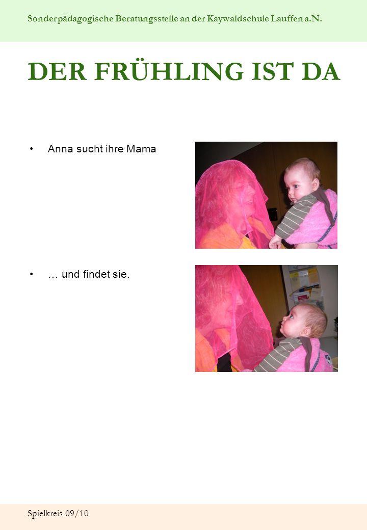 Sonderpädagogische Beratungsstelle an der Kaywaldschule Lauffen a.N. Spielkreis 09/10 DER FRÜHLING IST DA Anna sucht ihre Mama … und findet sie.