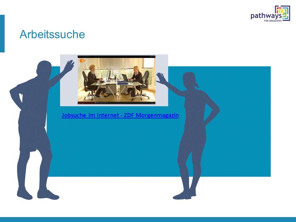 Arbeitssuche Jobsuche im Internet - ZDF Morgenmagazin
