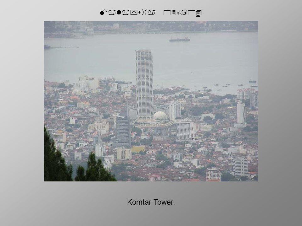 Malaysia 03/04 Komtar Tower.