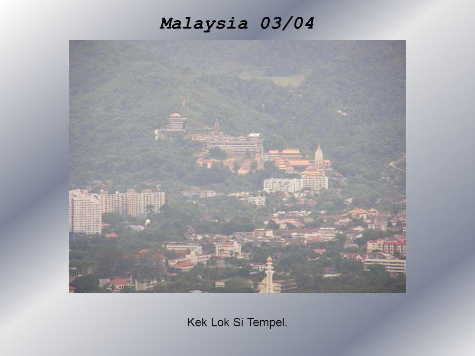 Malaysia 03/04 Kek Lok Si Tempel.