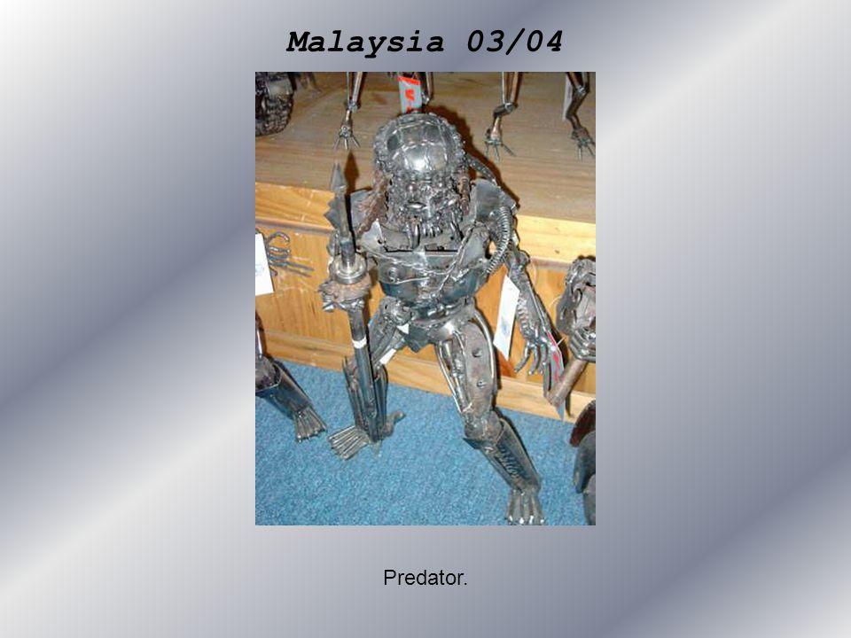 Malaysia 03/04 Predator.