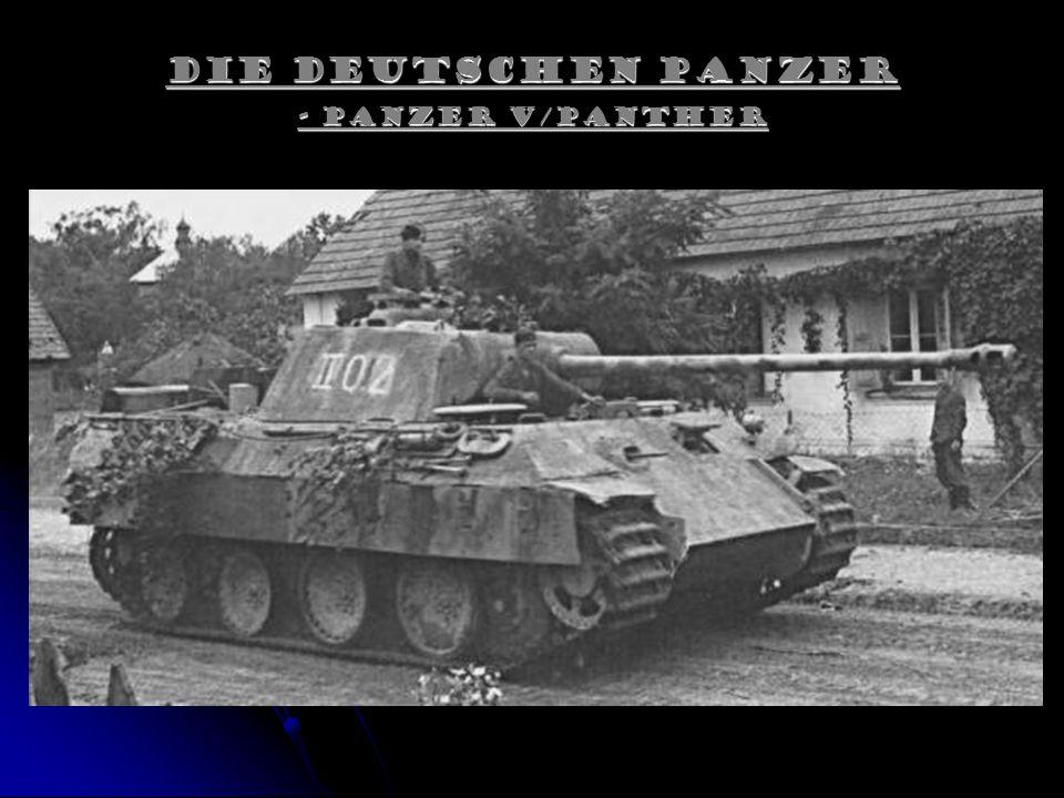 Die Deutschen Panzer - Panzer V/Panther