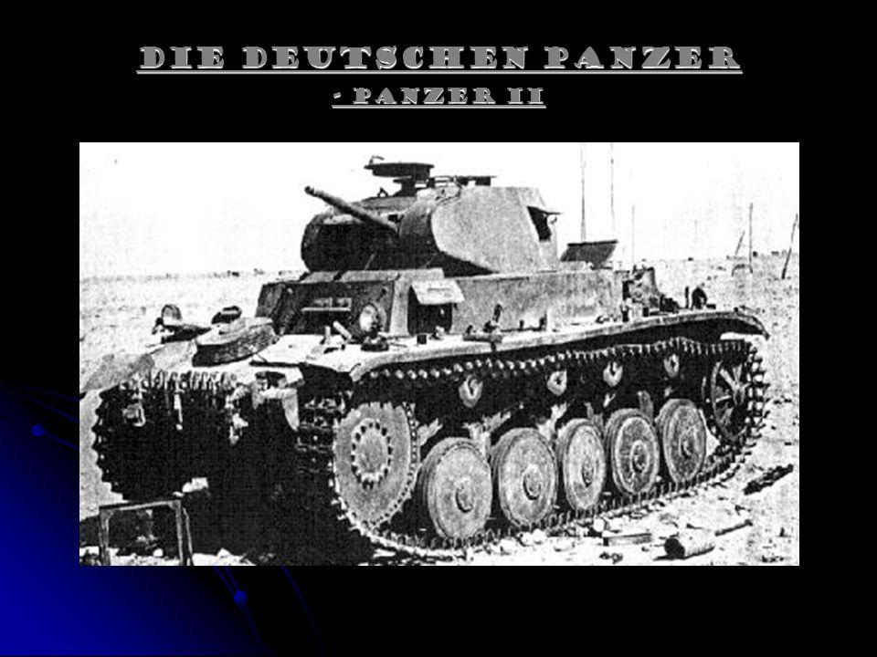 Die Deutschen Panzer - Panzer II