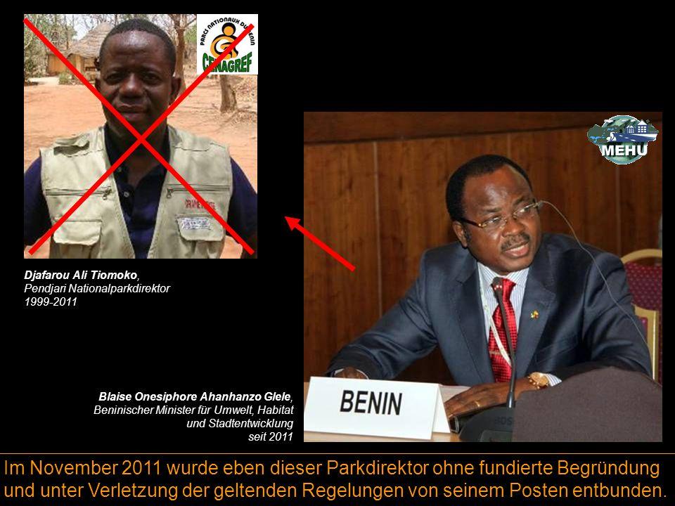 Im November 2011 wurde eben dieser Parkdirektor ohne fundierte Begründung und unter Verletzung der geltenden Regelungen von seinem Posten entbunden. B