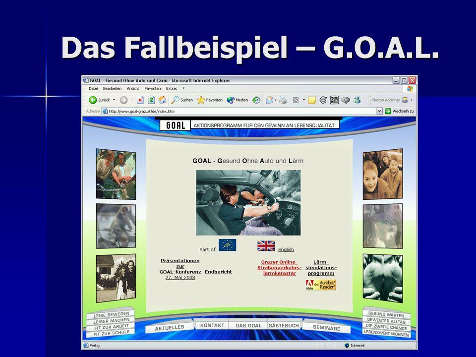 Das Fallbeispiel – G.O.A.L.