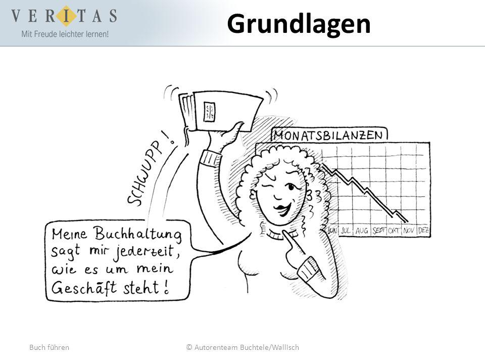 Buch führen© Autorenteam Buchtele/Wallisch Grundlagen Wozu Bücher führen.