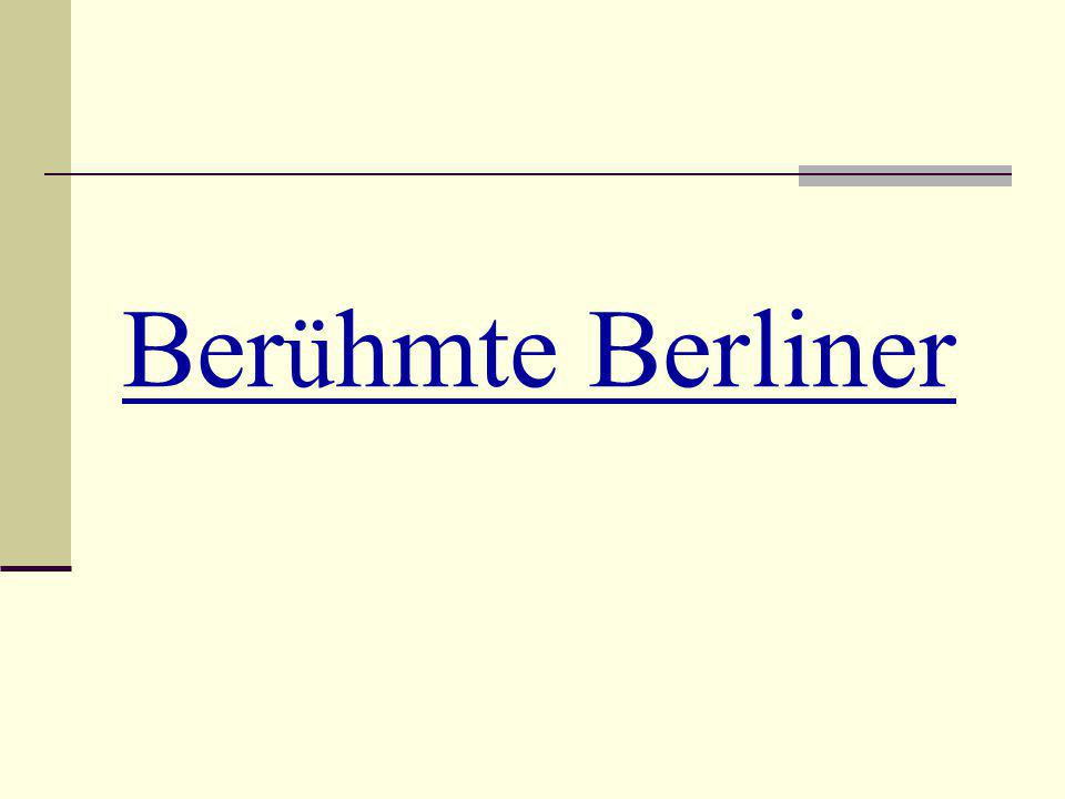 Ber ü hmte Berliner
