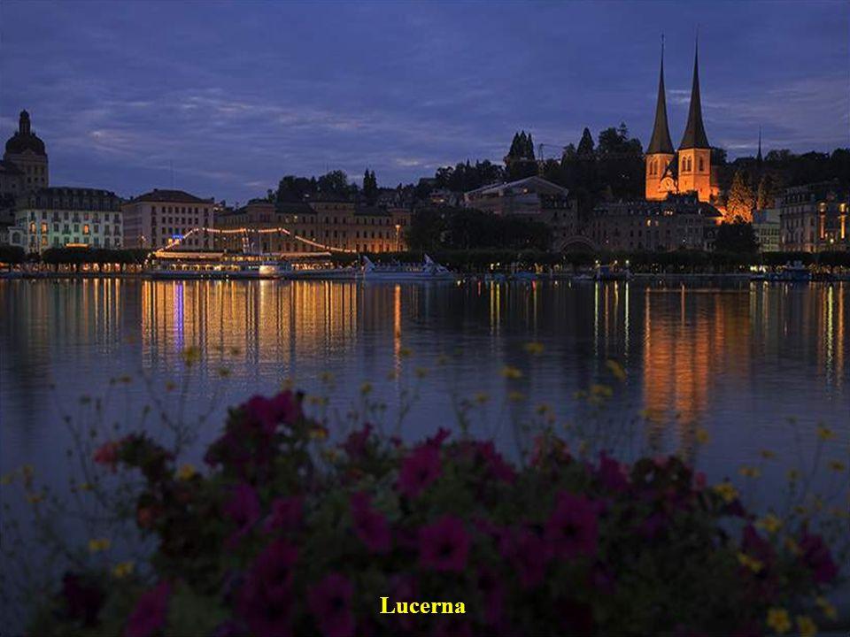 Lausanne – im Abend licht