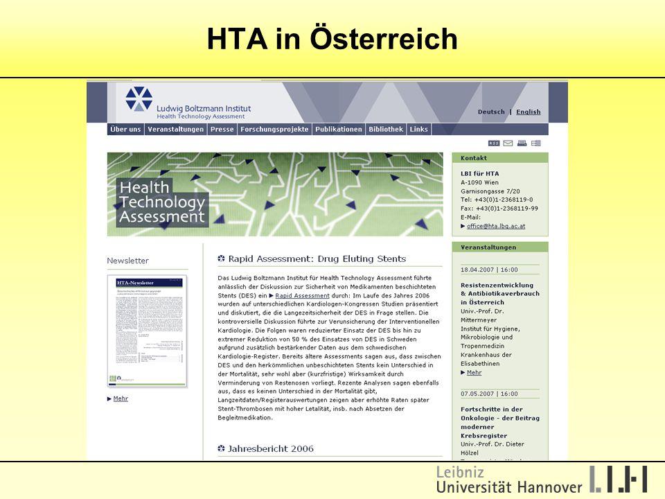 HTA in Österreich