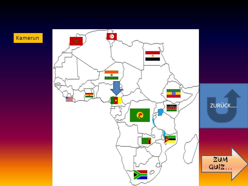 ZURÜCK…. ZUM QUIZ… Kamerun