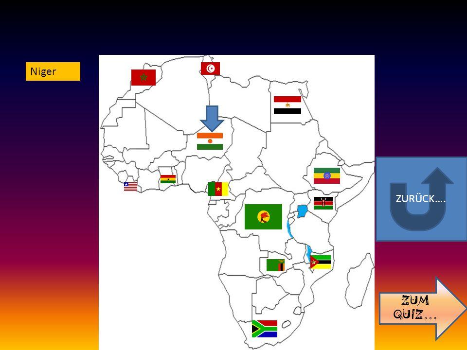 ZURÜCK…. ZUM QUIZ… Niger