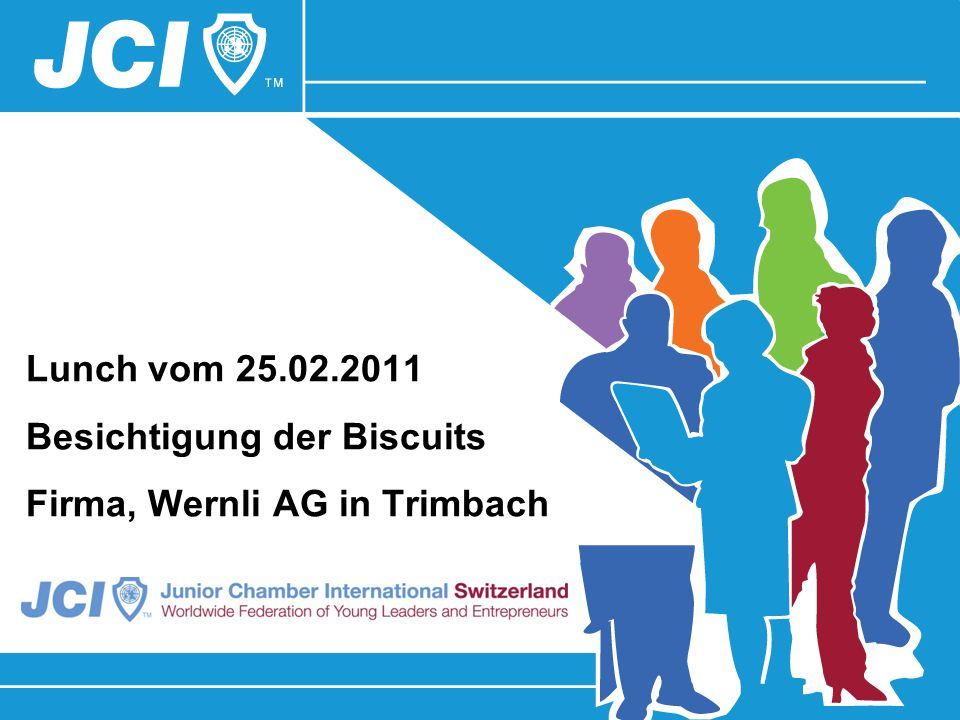 Lunch vom 25.02.2011 Besichtigung der Biscuits Firma, Wernli AG in Trimbach