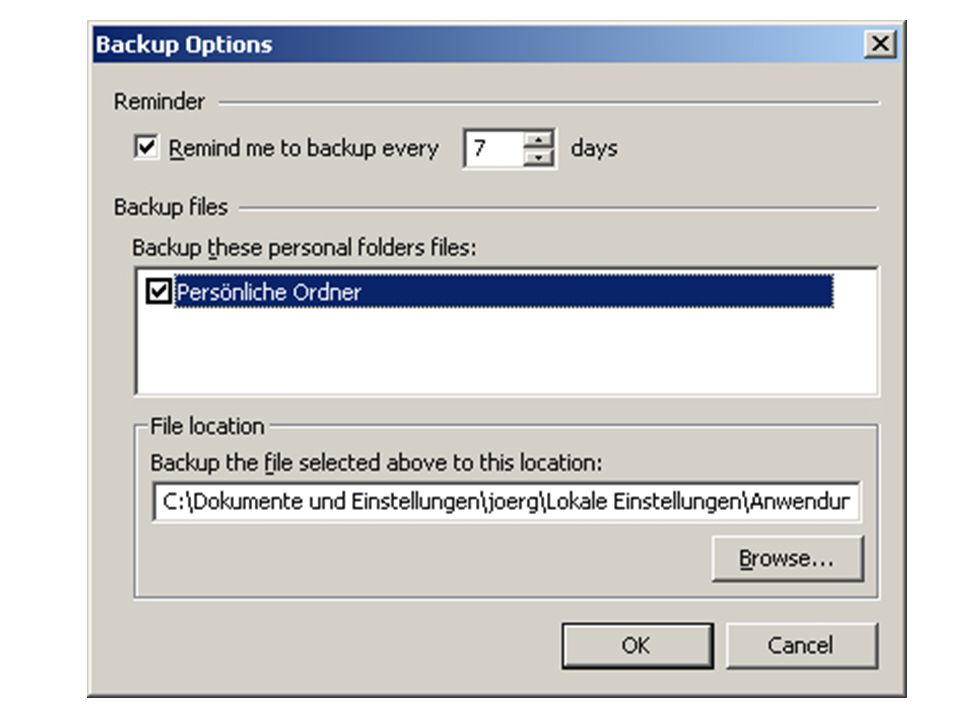 Cobian Backup Mit Cobian Backup wird Datensicherung leicht gemacht.
