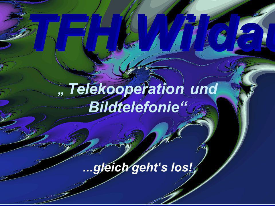 """TFH Wildau 10. 9. 98 Prof. Dr. Tolkiehn Seite 1 """" Telekooperation und Bildtelefonie""""...gleich geht's los! TFH Wildau"""
