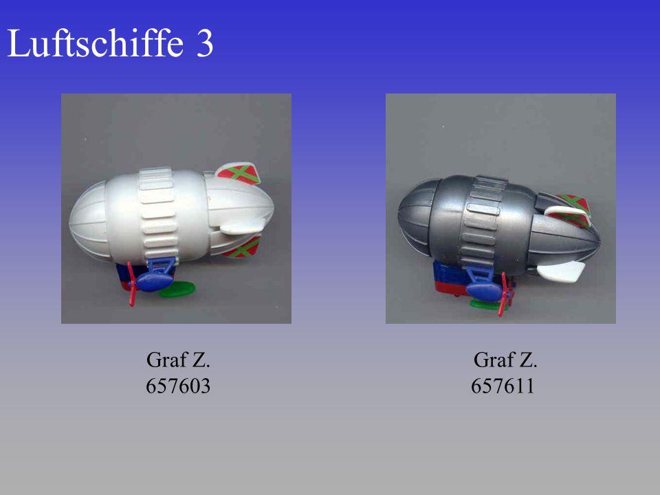 Luftschiffe 3 Graf Z. 657611 Graf Z. 657603