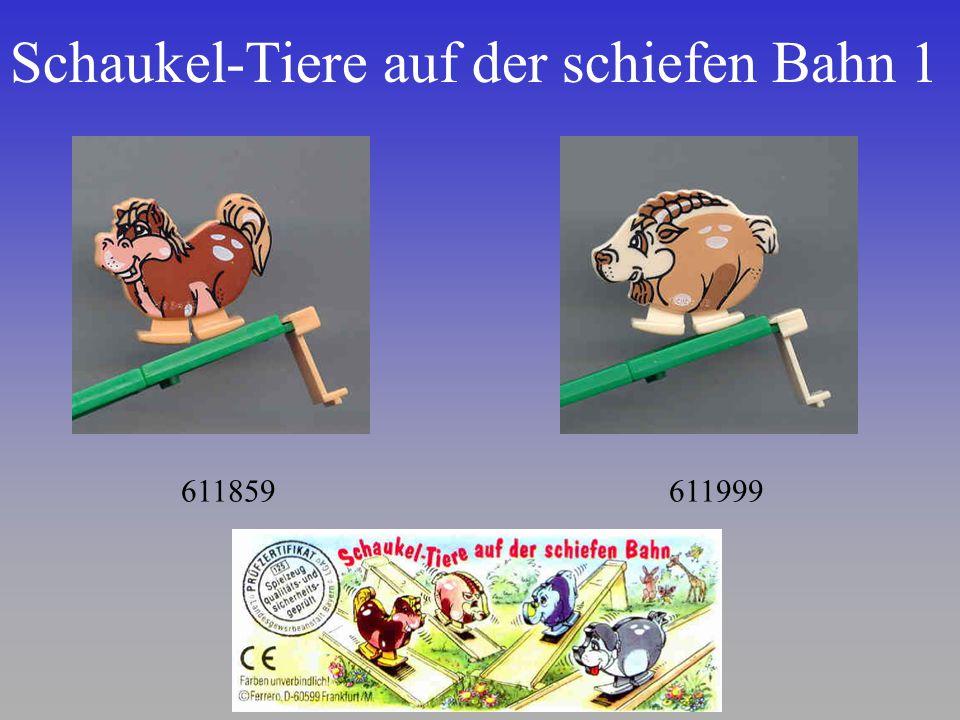 Schaukel-Tiere auf der schiefen Bahn 1 611859611999