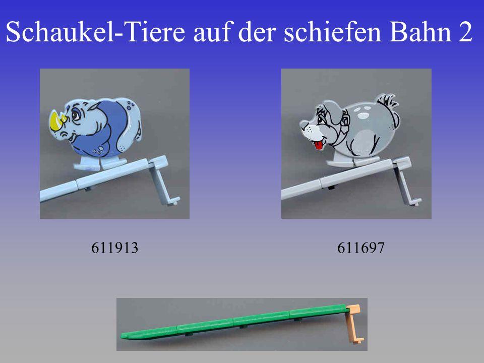 Schaukel-Tiere auf der schiefen Bahn 2 611913611697
